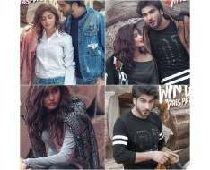 from a recent shoot imran abbas and sajal ali