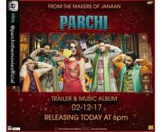repost from the mind blowing trailer and the amazing music album of parchi will be releasing today at 6 pm. save your reminders people