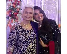 ammi jaan... no matter how i old i get i will always be your little girl.