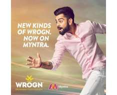 congratulations myntra for getting hold of wrogns brand new collection go wrogn now link in bio.
