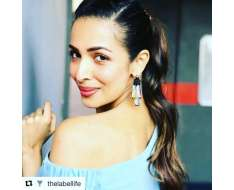 with shoulder baring season is just around the corner and little rainbow tassels are the right accessory to complement. unlike last season where long neck grazing tassels were of the moment, these short statement styles are fuss free and playful enough. - malaika arora