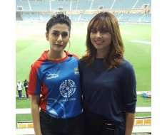 beautiful khan girls and during todays match