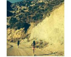 running in the mountains of great memories