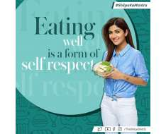 your body is your temple and one must respect it, by eating mindfully. you are what you eat..eat well, live well, stay happy