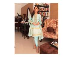 have fun with the festive2 collection by this eid beautiful detailing and all... and love the colour palette