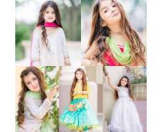 meet cutest and youngest pakistani american 4 years old model miah dhanani she has become viral sensation because of her adorable photo shoots