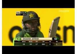 Shahid Afridi Blazing 65 runs of 25 balls vs New Zealand 3rd ODI 2010-2011 Hd