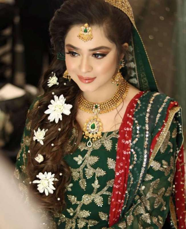 Looks Gorgeous On Her Mehndi Makeup By , All Pak Drama Page