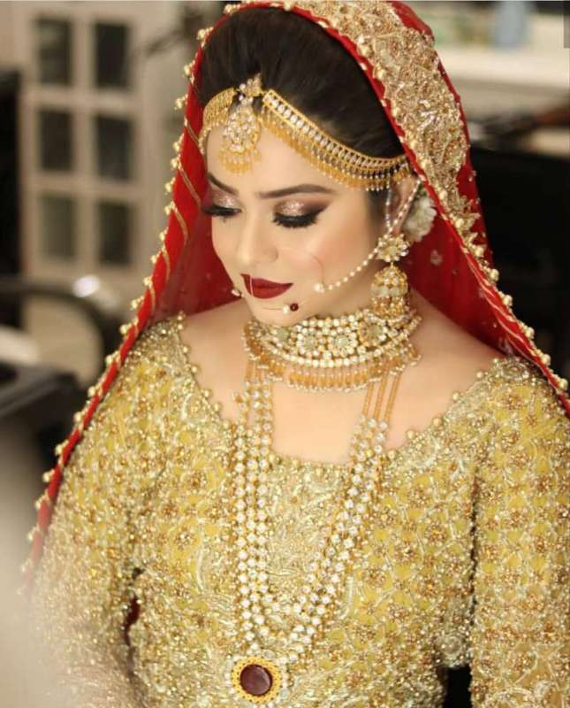 Bridal Look On Her Barat By All Pak Drama Page New Photo