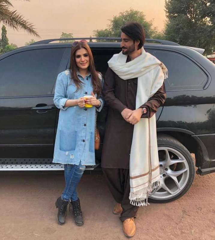 And Pair Up For Upcoming Drama Serial Here Is Bts Click From Shoot