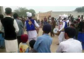 dance on wedding ceremony