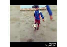 Waqas Khan From Arifwala Amazing Football STUNTS In Public