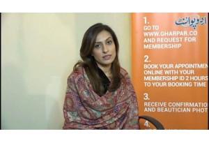 Meet Famous Beauty Services Application  Ghar Par's  Co-Founder  Shamila Ismail ...