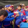 Shahid Afridi Birthday Celebration At Sharjah Cricket Stadium, PSL 3 @ UrduPoint