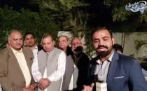 NA154 Main PMLN Kay Candidates Ki Jeet Ka Sharjah Main Jashan, Secertary Ghulam Mustafa Se Guftagu