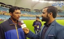 Mohammad Sami of Islamabad United Reaction After Marvelous Victory in Qualifier Match