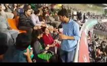 Gaddafi Stadium Lahore - People Enjoying Match Between Peshawar and Karachi - PSL 3