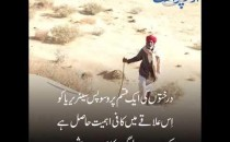 پاکستان میں موجود تھر اور اس ..