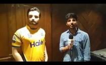 Hamza Ali Abbasi, Brand Ambassador of Peshawar Zalmi's comments on Today's Marvellous Victory - PSL3