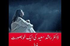 A Beautiful Ghazal by Dr. Rashid Saeed