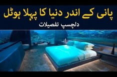 World's First Underwater Hotel Opened for Residence