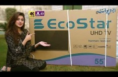 New EcoStar VERO UHD Smart TV With Latest Technology Including 4K Support,Sports Mode And A Lot More