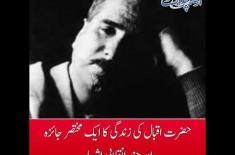 A Brief Biography of Hazrat Allama Iqbal...