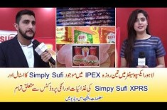 Watch Simply Sufi & Simply Sufi EXPR Products with Information in Lahore IPEX 2018 Stall Video