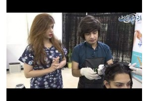 Extenso Treatment For Ladies Who Are Having Hair Problems,watch With Sajjal Bashir