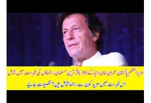 PM Imran Khan Is Ranked Among Top 50 Influential Muslims