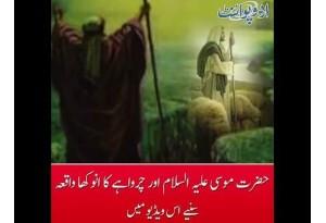 Interesting Story Of Hazrat Musa A.S & A Shepherd