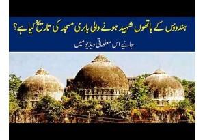 The History Of Babri Masjid Demolished By Hindus