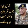 Why Pakistan Army Chief Qamar Javed Bajwa Deserves Tamgha-e-Imtiaz?