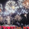 "48th National Day Of UAE - Fireworks At ""The Pointe"" Palm Jumeirah Dubai"