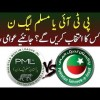 PTI VS PMLN | Which Political Party Has More Chances To Win Next Elections In Pakistan?