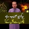 Yeh Koocha-e-Habib Hai, Palkon Sey Chal Ke Aa