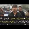 Students Protest Outside Punjab Secretariat, Watch UrduPoint's Exclussive Coverage