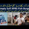 Know About The Making Of Simply Sufi XPRS Fish Burger: A Recipe With Unique Taste