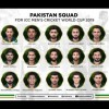 Pakistani Cricket Team Squad Announced For World Cup 2019 - UrduPoint