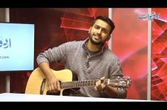 The Young Talented Singer Fawad Ali is the Guest in Chit Chat Corner, Listen Songs in the Video