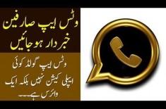 Beware WhatsApp Users, WhatsApp Gold is A Virus