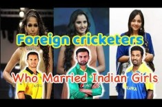 7 Famous Cricket Players Who Got Married To Indian Girls