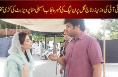 PTI Minister Zartaj Gul Bashed PMLN Member Hina Parvez Butt, Here Is Why
