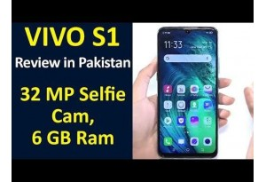 Vivo S1 Review In Pakistan | 32 MP Selfie Cam, 6 GB Ram | Excellent Device