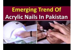 Emerging Trend Of Acrylic Nails In Pakistan | Find The Different Types & Shapes Of Acrylic Nails