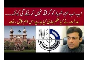 LHC Restrains NAB From Arresting Hamza Shahbaz,
