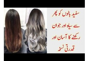 How To Stop Hair From Turning White, Find Out Helpful Tips