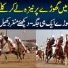 10 Second Me Naiza Se Tent Ukhara | 2000 Horses At One Place - Famous Tent Pegging In Lahore