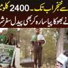 Karachi Se Khunjerab Tak 2400 Kilometer Ka Safar Paidal Shuru Karne Wala Naujawan