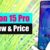 Tecno Camon 15 Pro Review | Camon 15 Pro Price In Pakistan